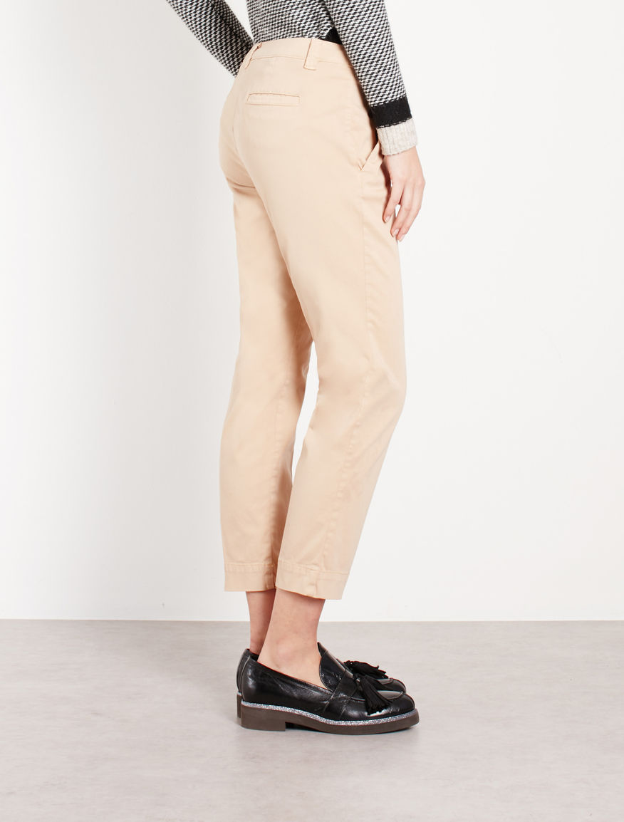 Pantaloni in raso Marella