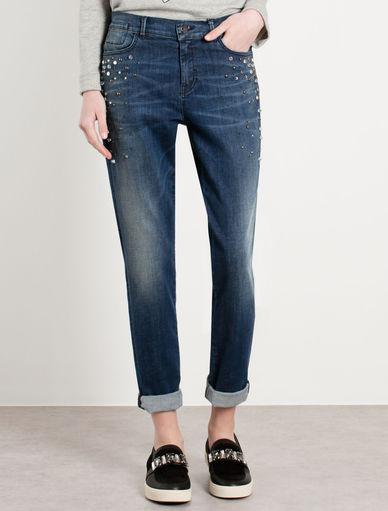 Embellished jeans Marella