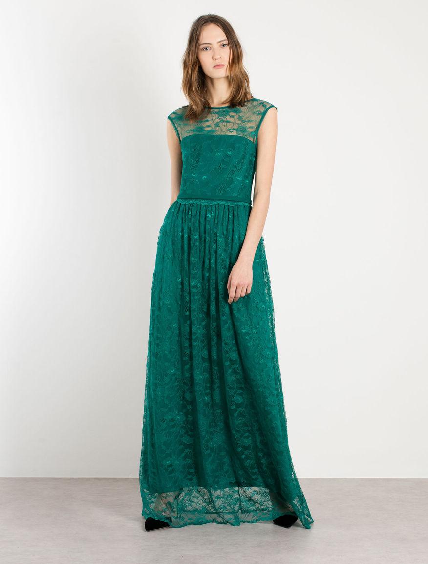 Conosciuto Modello abi to lungo verde smeraldo - Fashion touch italy NG64