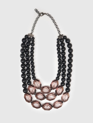Necklace with boules Marella