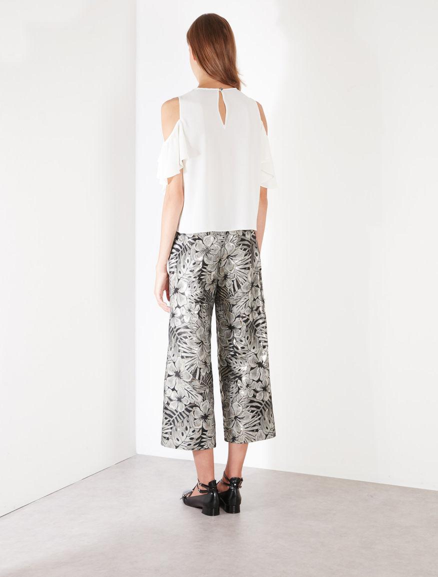 Pantaloni jacquard Marella