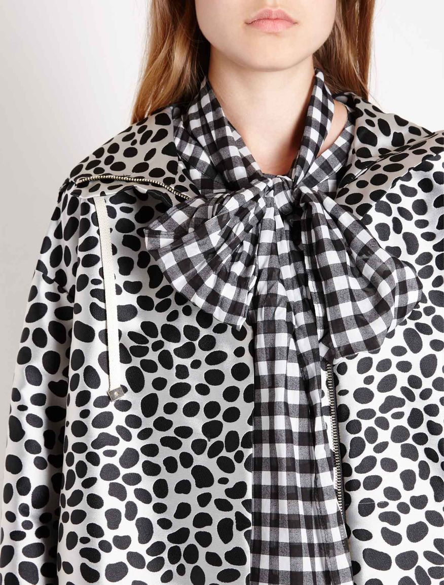 Macula-patterned parka Marella