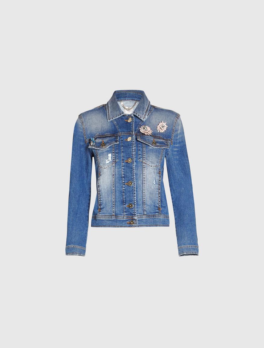 Denim jacket Marella