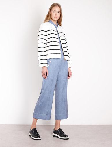 Stripy duvet jacket Marella