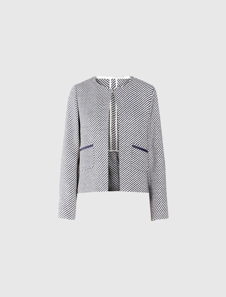 Jacquard jacket Marella