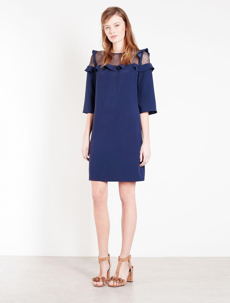 Dress with volant Marella