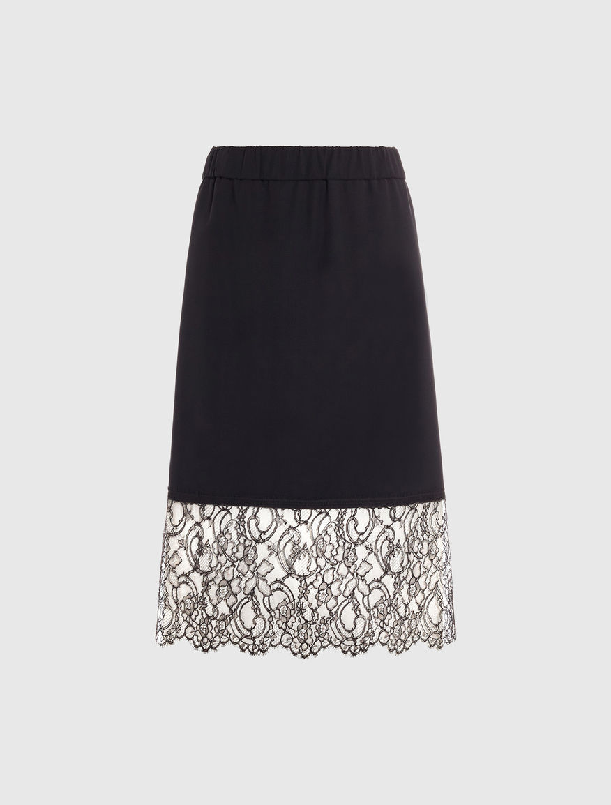 Skirt with lace Marella