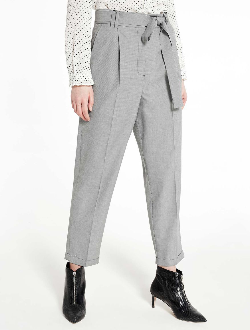 High waisted trousers Marella