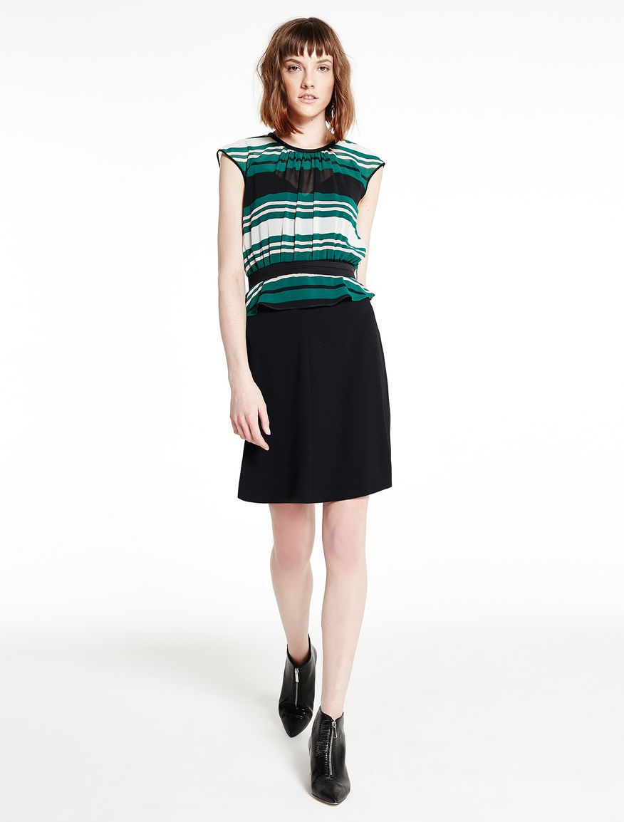 Multicolour striped dress Marella