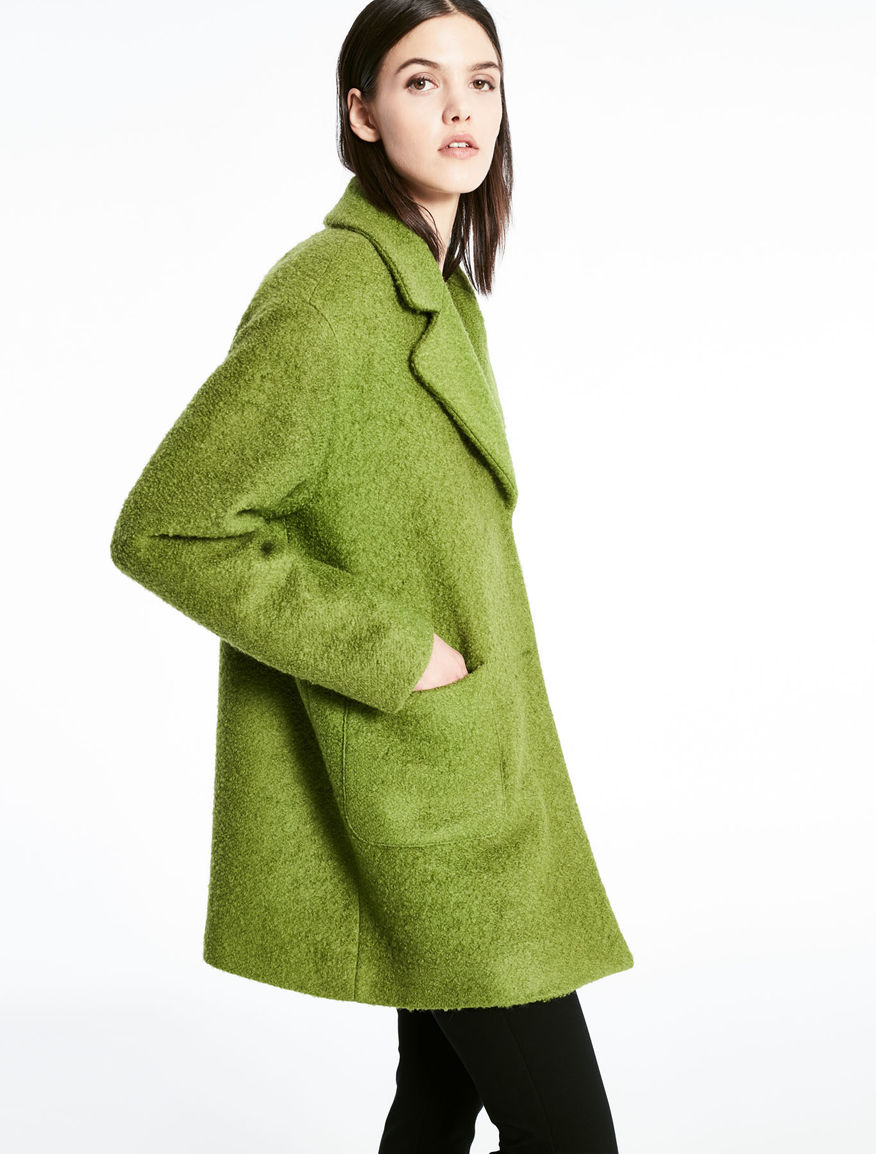 Bouclé coat Marella