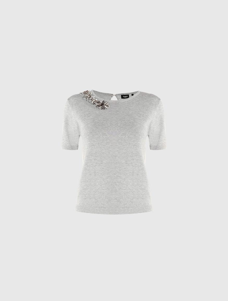 T-shirt with appliqué Marella