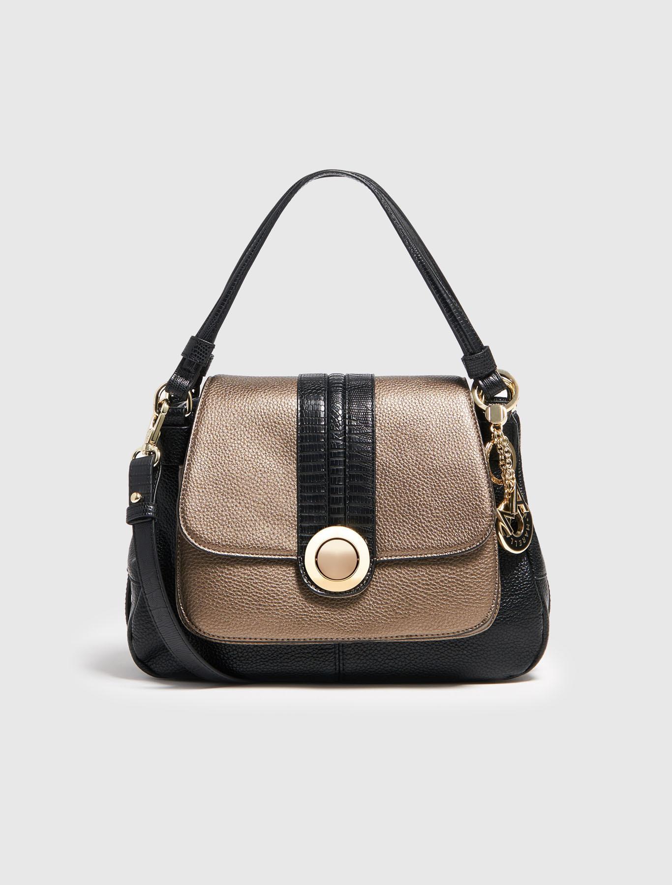 twotone bag bronze marella