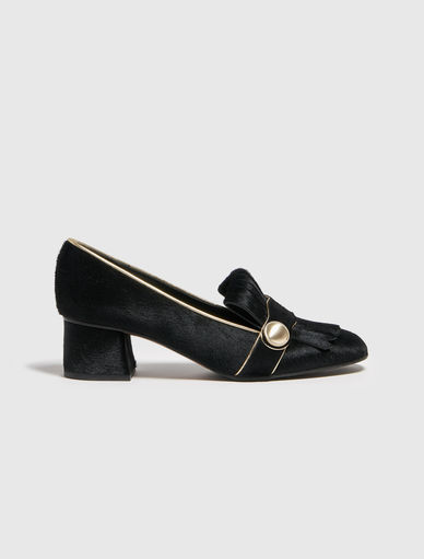 Pony-skin loafers Marella