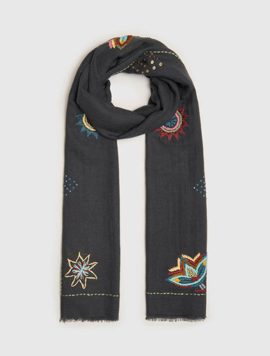 Embroidered stole Marella