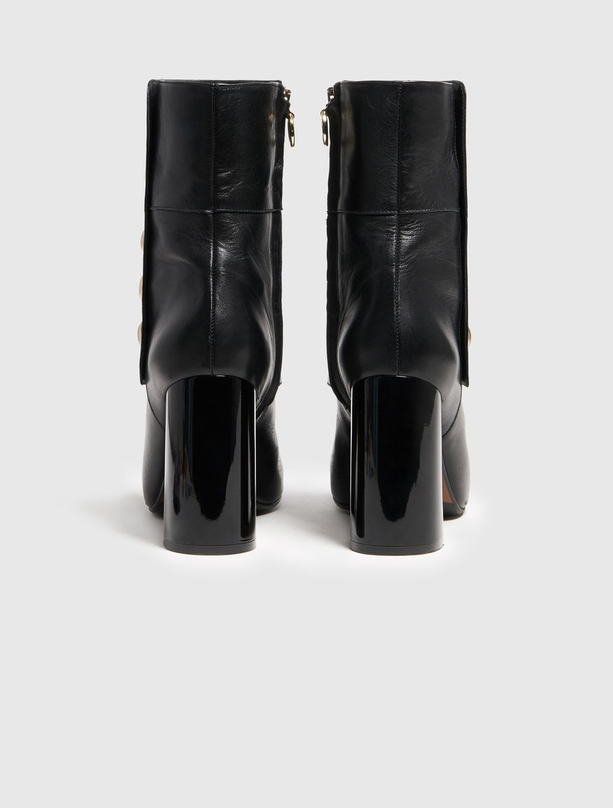 Gaiter ankle boots Marella