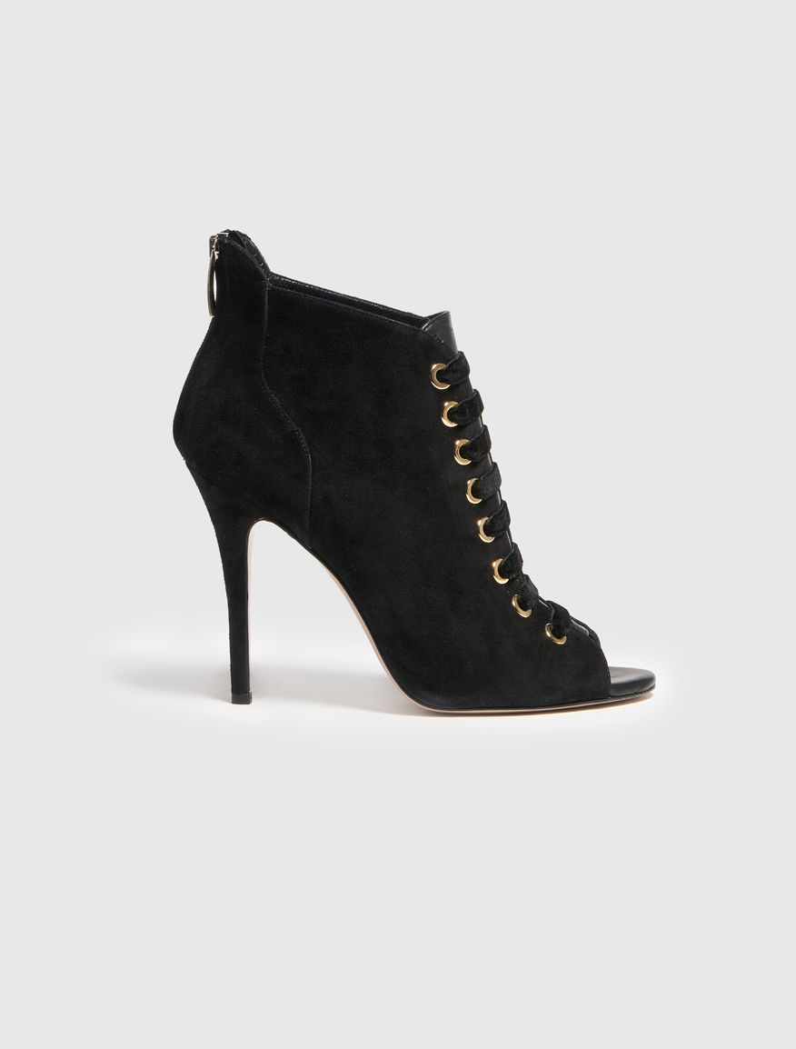 Suede ankle boot Marella