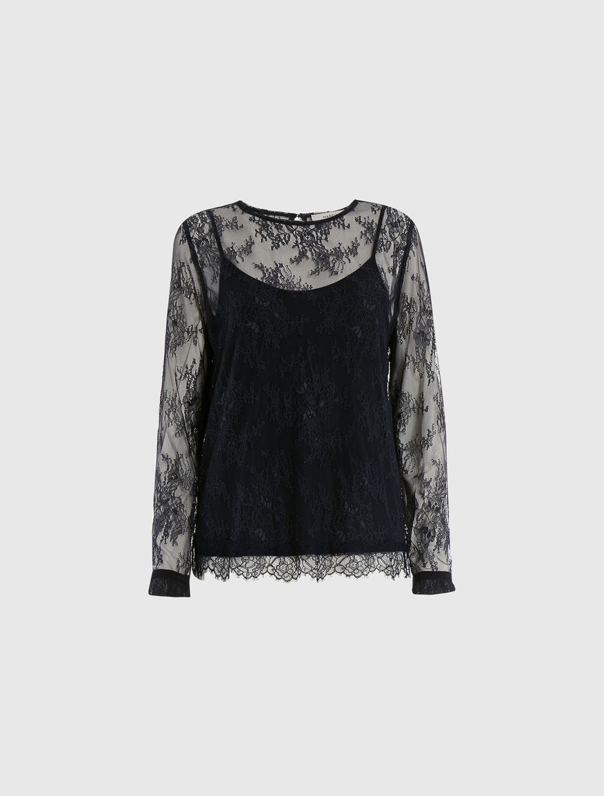 Lace blouse Marella