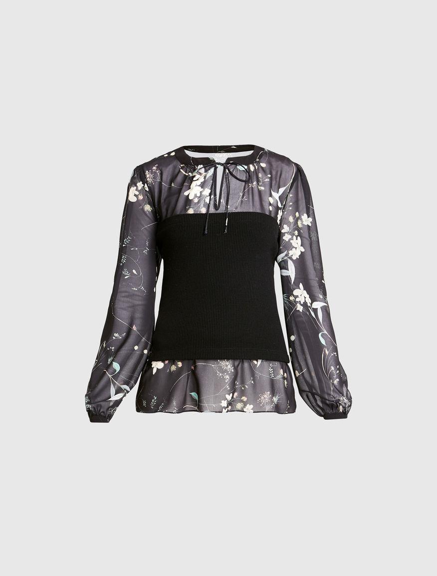 Blusa in georgette Marella