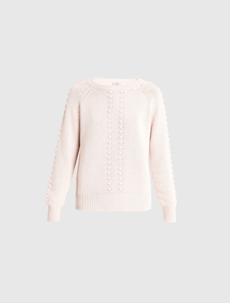 Cashmere blend sweater, powder - Marella