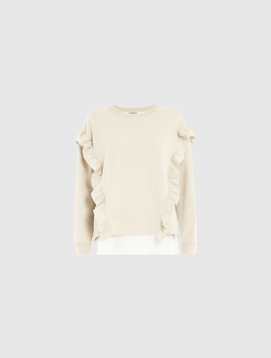 Sweatshirt with ruffles Marella