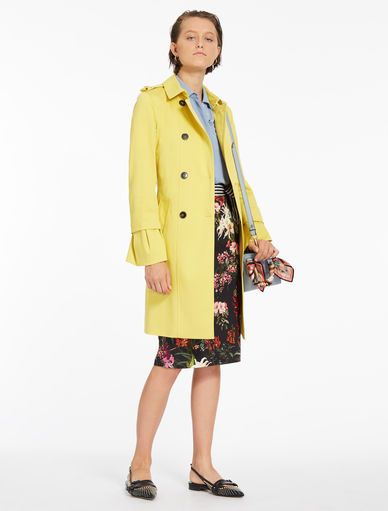 Trench coat with flounce Marella