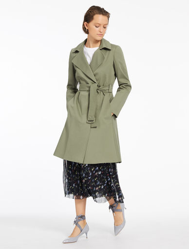 Fit & flare trench coat Marella