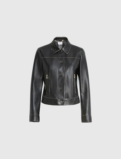 Leather-effect jacket Marella