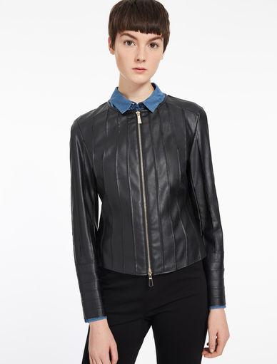 Leather-effect jacket Marella