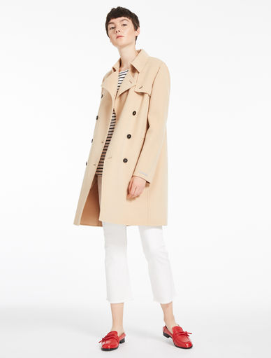 Wool trench coat Marella