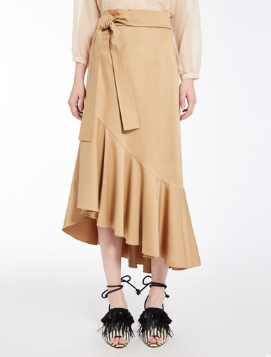Skirt with flounce Marella