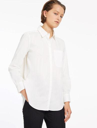 Poplin and crêpe shirt Marella