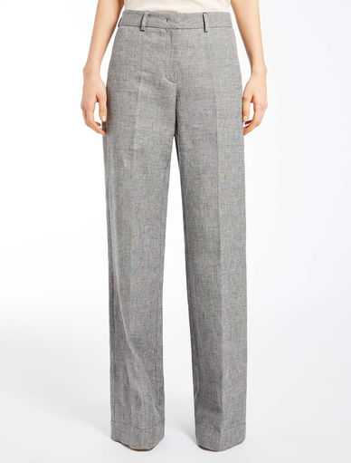 Linen trousers Marella