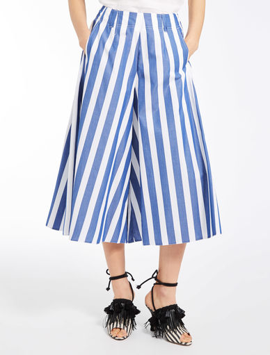 Striped culottes Marella