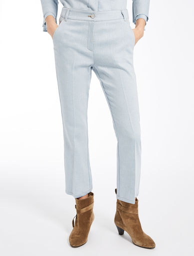 Denim-effect trousers Marella