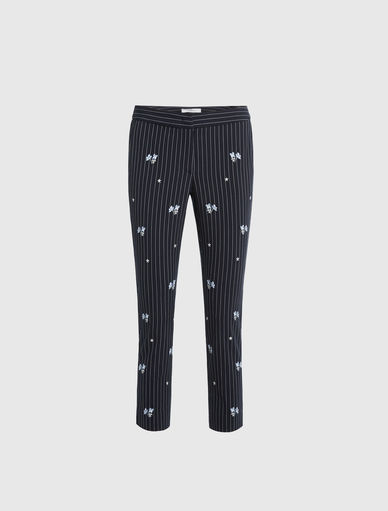 Pinstriped trousers Marella