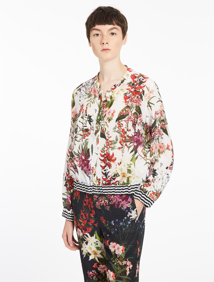 Patterned blouson Marella