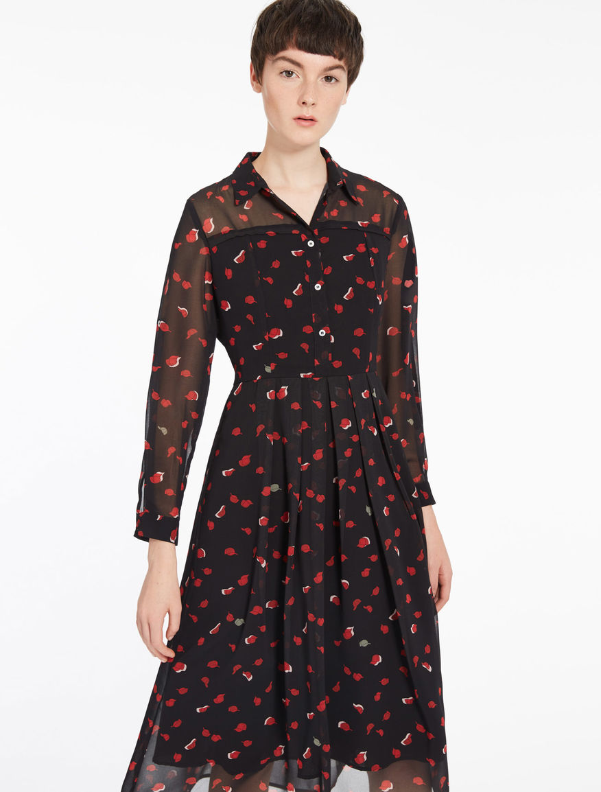 Patterned shirt dress Marella