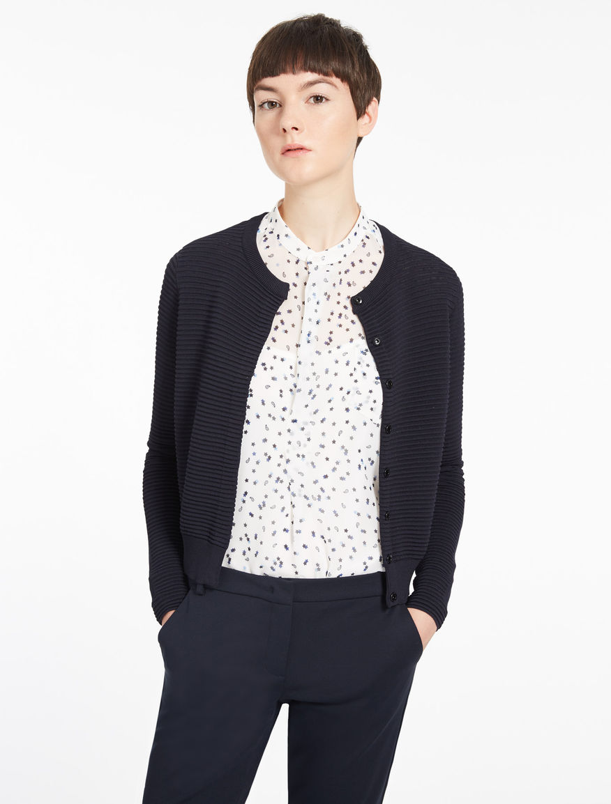 Short cardigan, navy - Marella