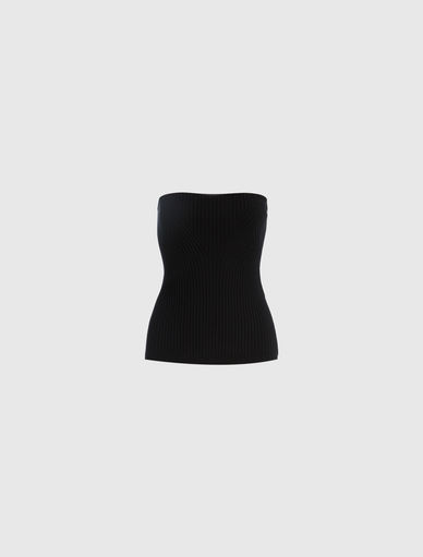 Knit tube top Marella