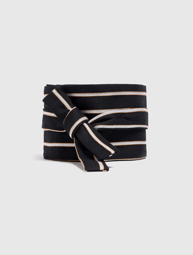 Striped belt Marella