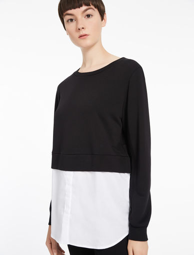 Cropped sweatshirt Marella