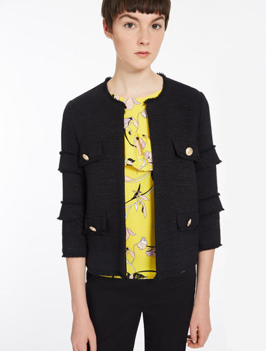 Basketweave jacket Marella