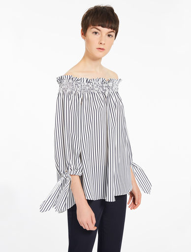 Off-shoulder blouse Marella