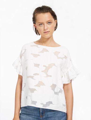 Jacquard blouse Marella