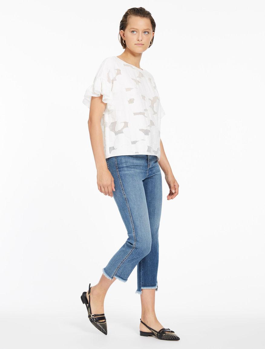 Fringed jeans Marella