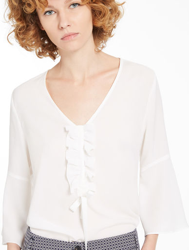 Blouse with ruching Marella