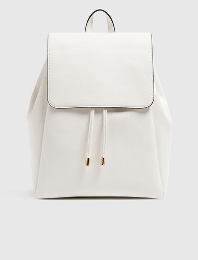 Leather effect rucksack Marella