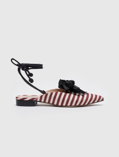 Striped mules Marella
