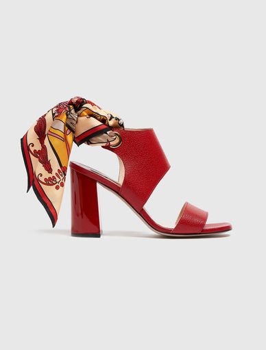 Sandals with scarf Marella