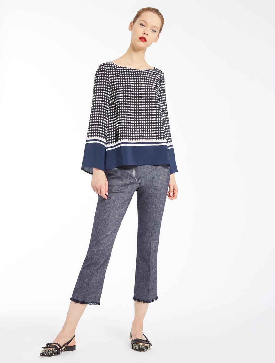 Gingham blouse Marella